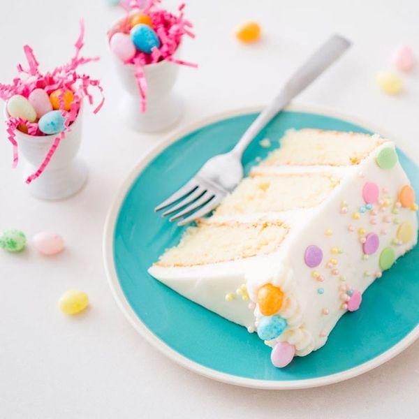 Make This Gorgeous Lemon Cake Recipe for Your Next Spring Gathering