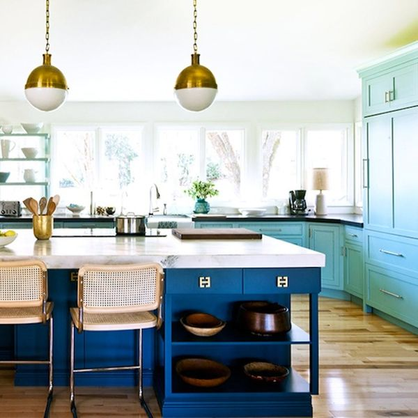 15 Colorful Kitchens You'll Wish Were Yours