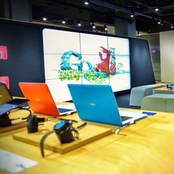 Watch Out, Apple: Google's First Retail Store Is Crazy Cool