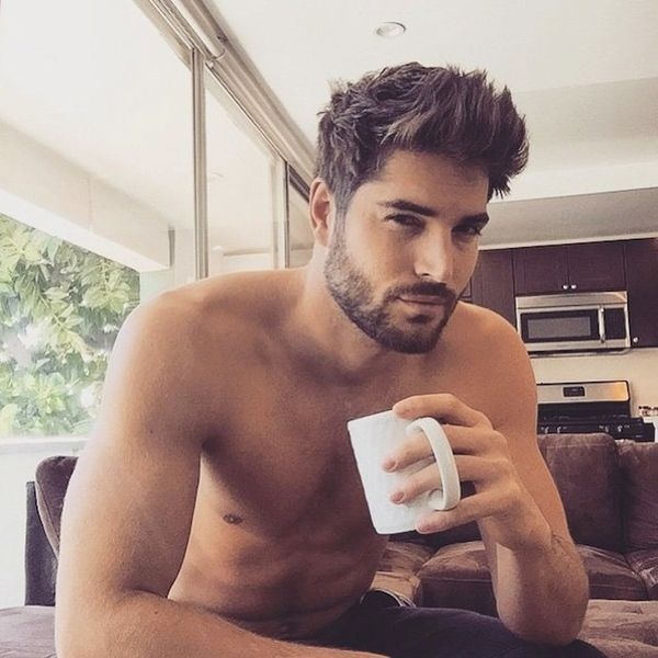 #MenandCoffee Is the New Hot Dudes Reading and We're into It