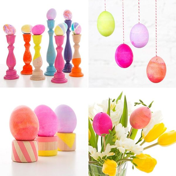 4 Easy Easter Egg Decorations You Can Make in 5 Minutes or Less