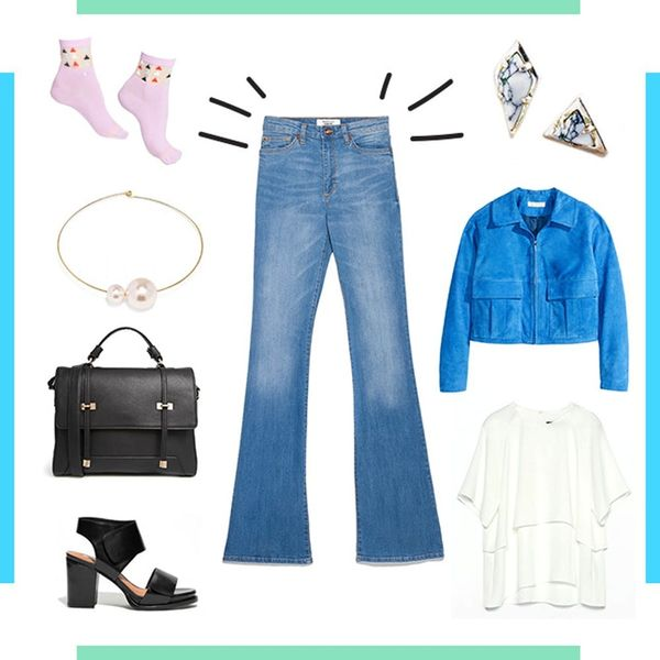 Style Resolutions: How to Look Chic in Flared Jeans