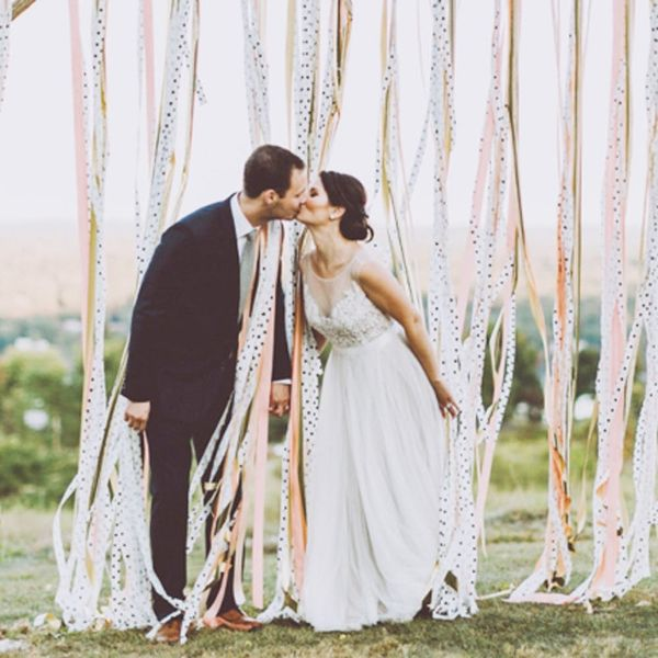 11 Ways to DIY Your Wedding With Flagging Tape