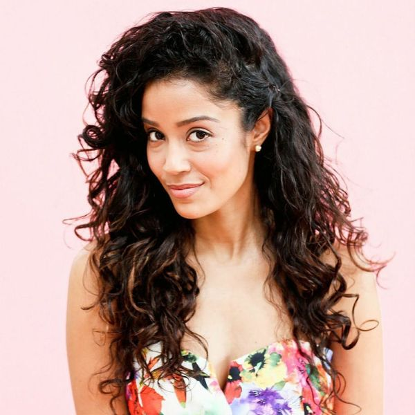 This Is About to Be Your Favorite New Way to Style Curly Hair