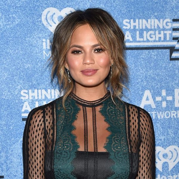 Chrissy Teigen's Thanksgiving TipIs One You'll Wish You Thought About Last Night
