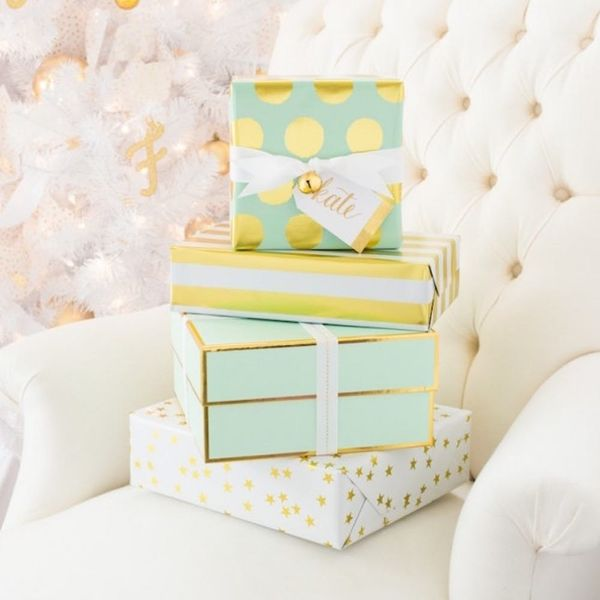 This Luxe Gift Wrap Is the Target Collab of Your Holiday Dreams