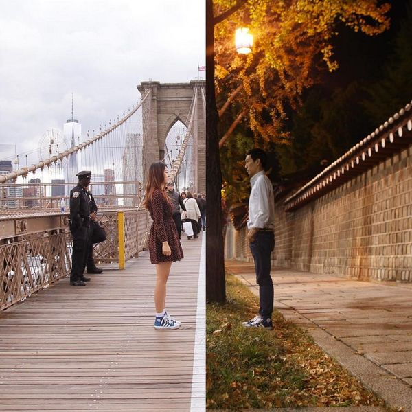 How This Couple Turned Their Long-Distance Relationship into an Art Project