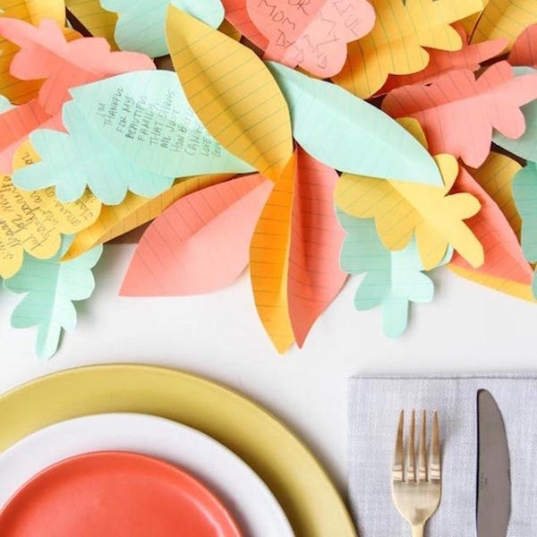 22 Table Decor Hacks for a Festive Friendsgiving
