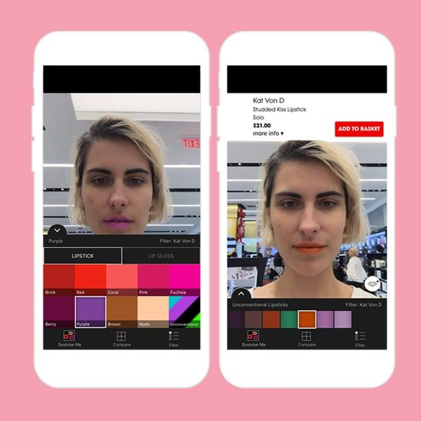 We Tried Sephora's New App That Lets You Try on 2,200 Lipstick Shades — It's Amazing