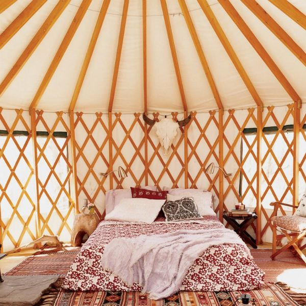 10 Modern Yurts You Could Totally Live In