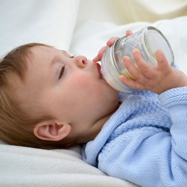 The DIY Mason Jar Baby Bottle Is Essential for Hip Babies