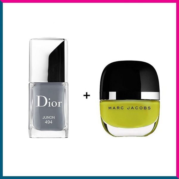 10 Unexpected Nail Polish Color Combos to Try Now