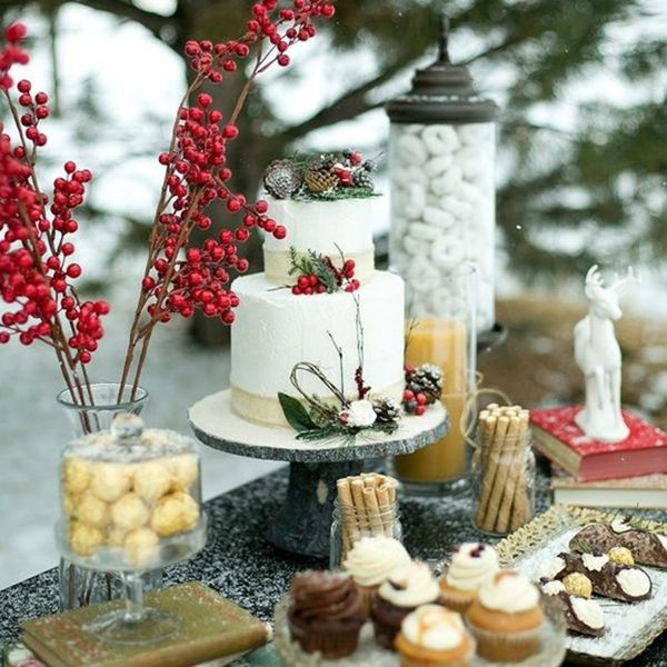 15 Nature-Inspired Winter Wedding Ideas