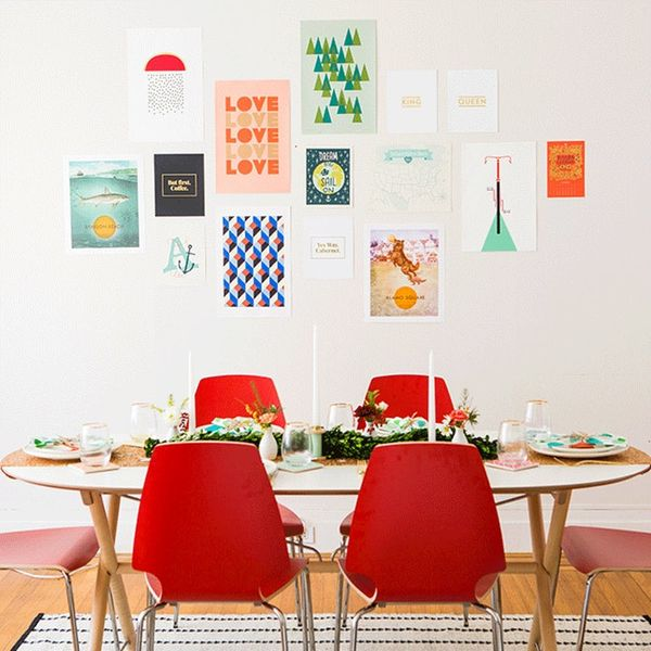 How to Refresh Your Gallery Wall in Time for Friendsgiving