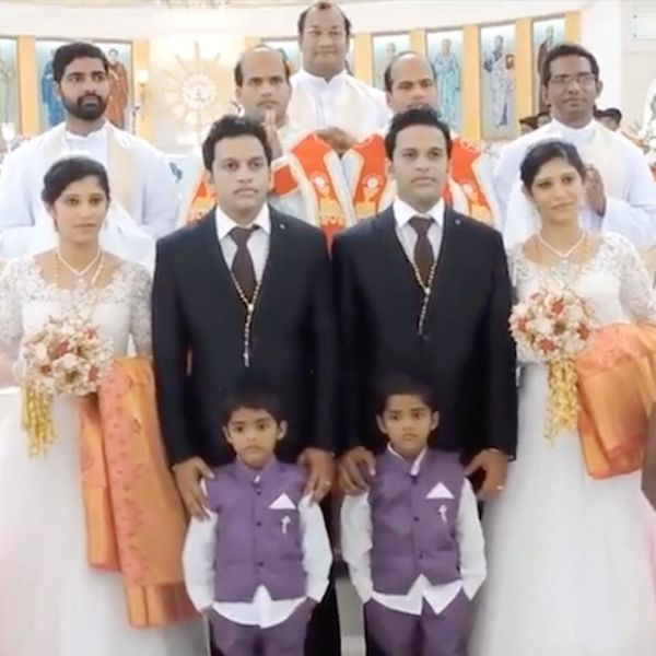 EVERYone InThis Crazy Viral Wedding Is a Twin
