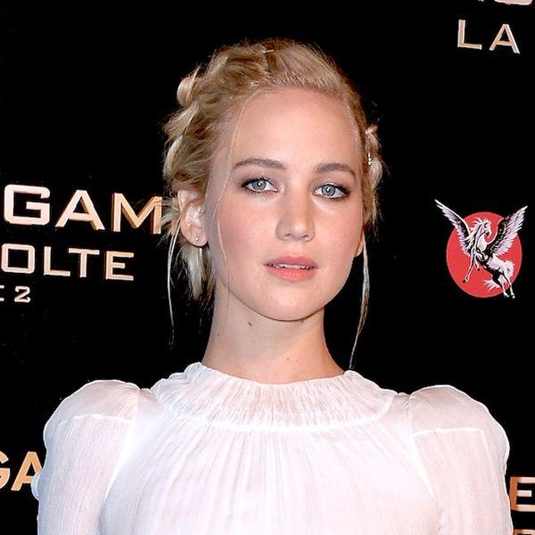 How to Make Jennifer Lawrence's Red Carpet Hair Secret WAY Affordable