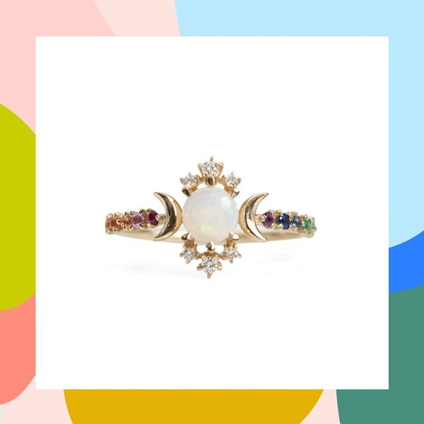 12 Opal Engagement Rings You'll Fall in Love With