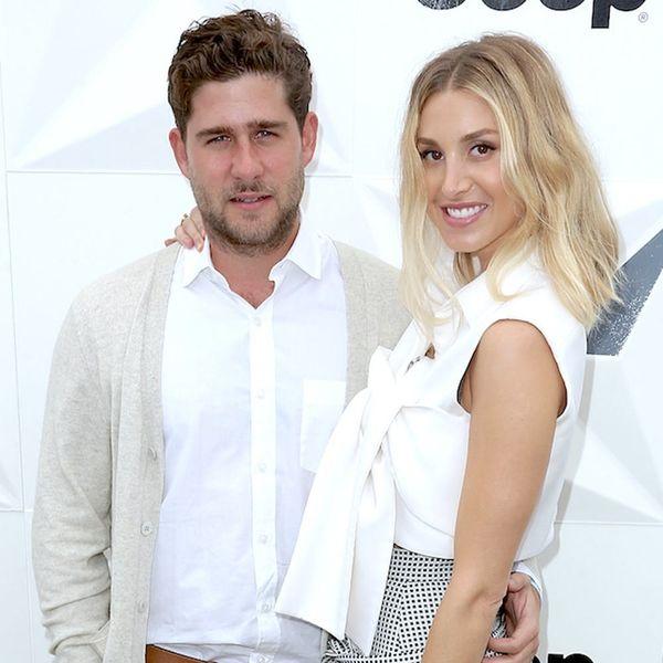 See Whitney Port's Unique Non-Traditional Wedding Dress + Hair