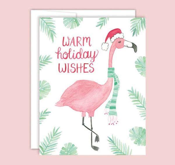 22 Gorgeous Hand-Painted Holiday Cards