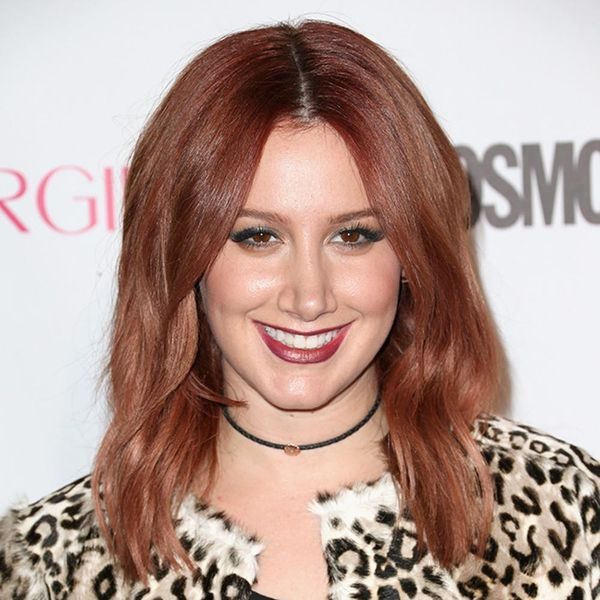Ashley Tisdale's New Hair Color Is SO Fall