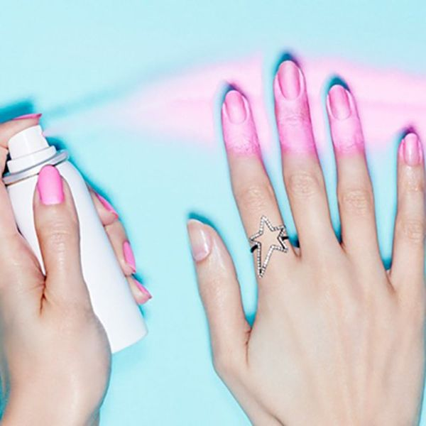 This Crazy New Beauty Product Lets You *Spray* on Your Manicure