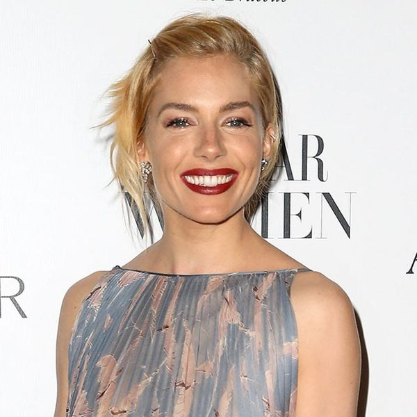 Sienna Miller's Red Carpet Updo Is the Ultimate Lazy Girl Hair Hack