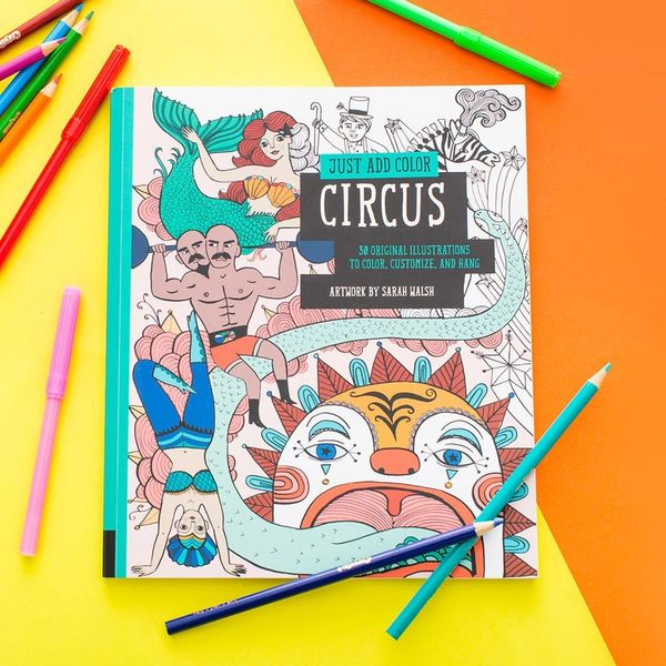 What Happens When a 24-Year-Old and 4-Year-Old Review the Same Coloring Book