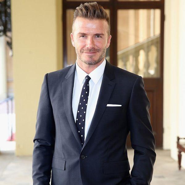 David Beckham's Daughter Was the Artist Behind His Newest Tattoo
