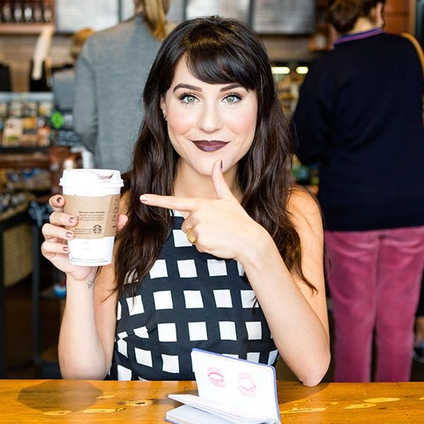 What Happened When Our Preppy Beauty Writer Wore Crazy Dark Lipstick All Weekend