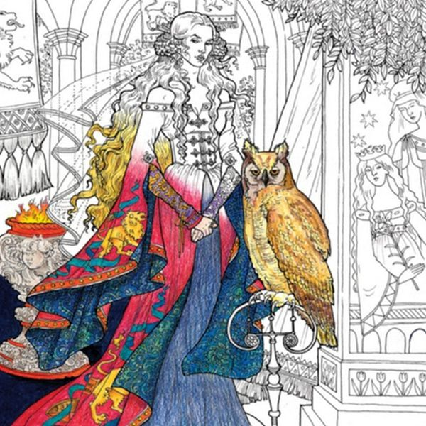 See a Sneak Peek of the Game of Thrones Coloring Book