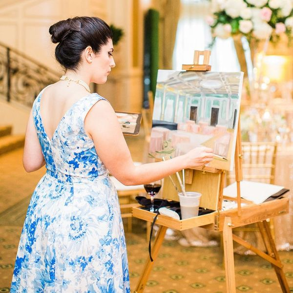 Why Live Painting Could Be the Next Big Wedding Trend