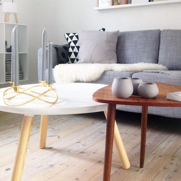 11 Ways to Style a Modern + Minimalist Coffee Table