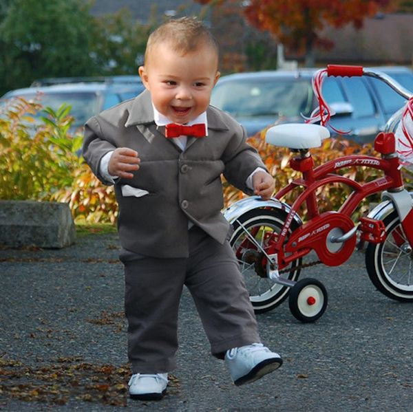 13 Hilarious Halloween Costumes for Dressing Your Kid like a Grown-Up