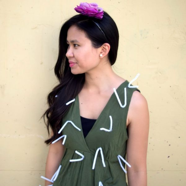 How to Make a Cute Cactus Costume With Just 4 Supplies