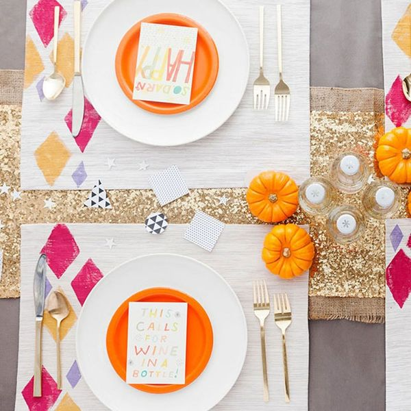 These Hand-Stamped Placemats Will Level Up Your Next Dinner Party