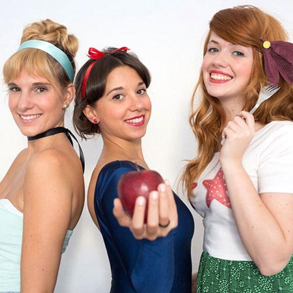 How to DIY Easy Disney Princess Hair for Halloween
