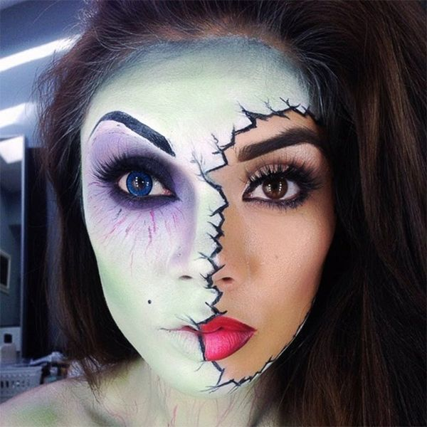 15 of the Best Scary-Chic Halloween Makeup Tutorials on YouTube