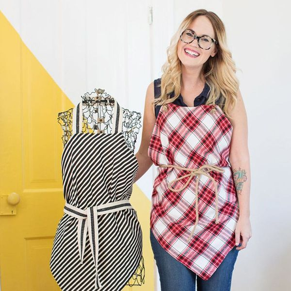 What to Make This Weekend: No-Sew Aprons, a Fruit Salad Halloween Costume + More