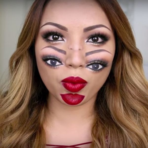 This Halloween Makeup Tutorial Will Totally Trip You Out