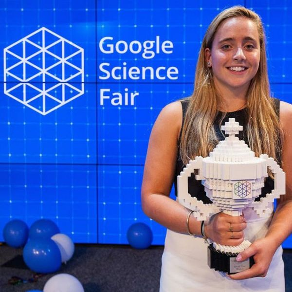 Meet the 16-Year-Old Girl Who Won the Google Science Fair