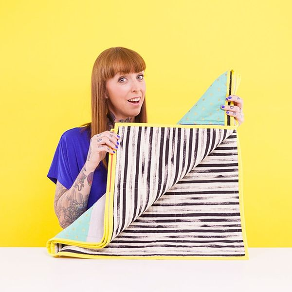 How to Make a Modern Quilt for Under $20