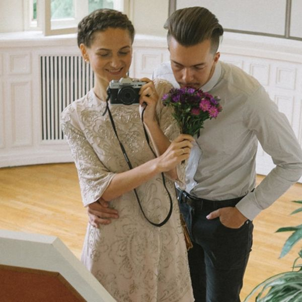 This Bride Took Her Own Wedding Photos and They're Gorgeous