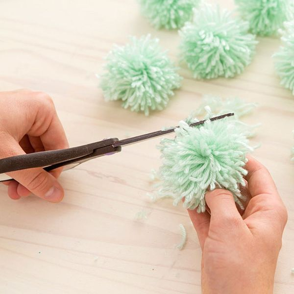 This Is the Easiest Hack to Make Pom Poms Ever