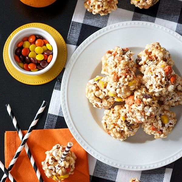 10 Popcorn Ball Recipes for Your Halloween Party