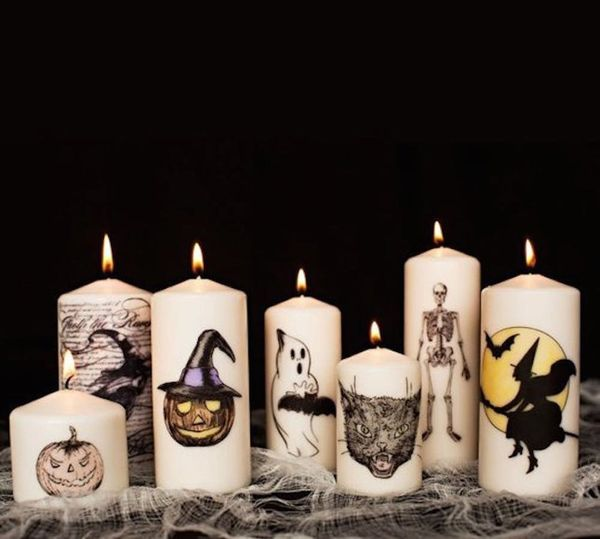 14 Spooky Halloween Candles to DIY