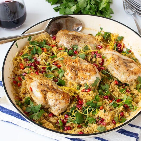 Make This Speedy One-Pot Chicken Couscous Dinner Recipe This Week