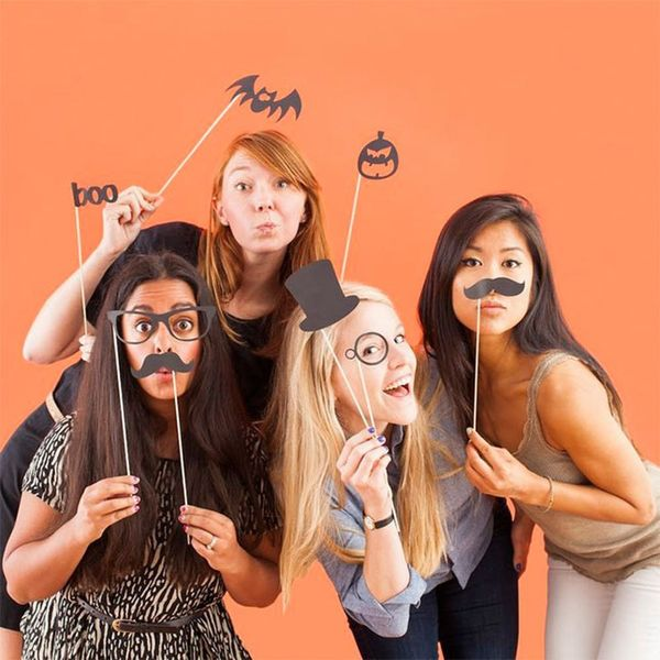 10 Halloween Photo Booths Your Party Needs