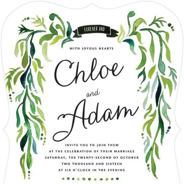 The Top 4 Fall Wedding Invitation Trends