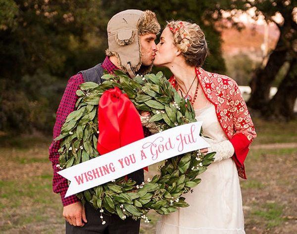25 Oh-So-Festive Christmas Wedding Ideas