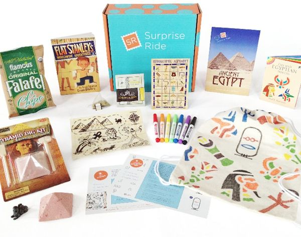 Surprise! This Subscription Box Takes Kids Adventuring